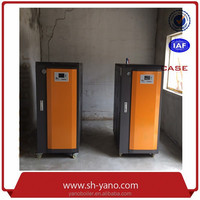 2 sets 72KW 103kg/hr Electric Steam Boiler used in Food Industry for Cooking Salted Duck Eggs