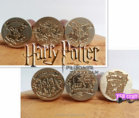 Gift metal sealing wax stamp harry potter family crest
