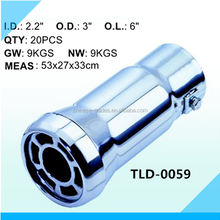 Pipe Car Exhaust Stainless Steel Tail Muffler