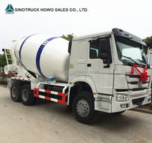 sinotruk HOWO heavy duty 6x4 290hp 8m3 concrete mixer transport truck vehicle with high roof for sale