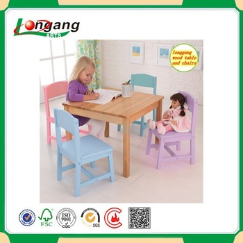 made in China, modern wooden children study table ,antique solid wood kid study tables