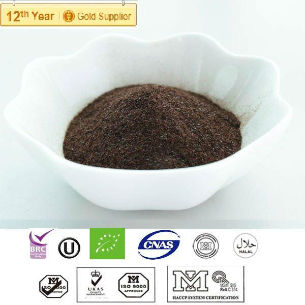 Instant pu'er tea powder