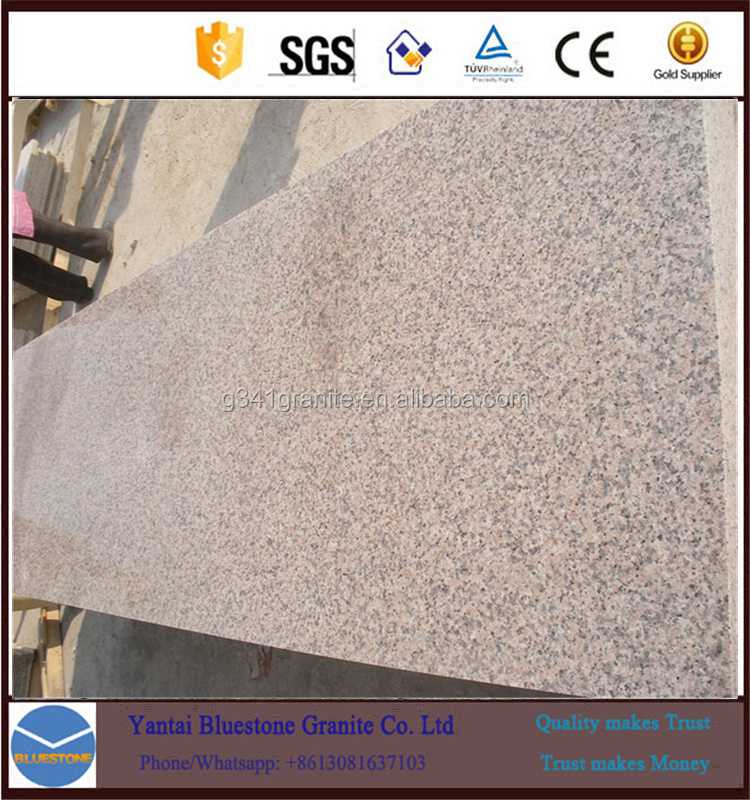 G364 Sakura Red Granite Polished Big Slab granite countertop slabs