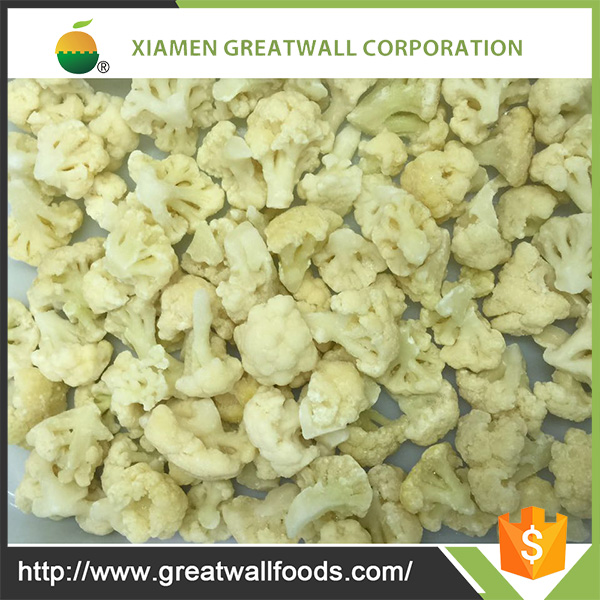 Top Grade frozen vegetable/iqf cauliflower
