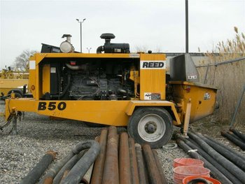 Reed B-50 Concrete Line Pump