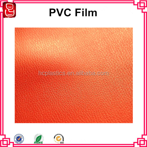 Non-sticky PVC Book Cover Film, Embossed PVC Cover Sheet in Roll