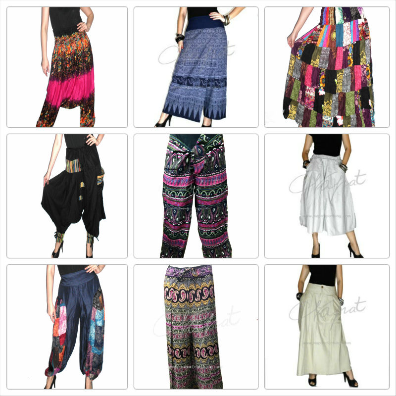 Chiffon Harem Pants, Garments JumpSuit ,Yoga Clothes Floral Print Dress Sarouel,pantalon