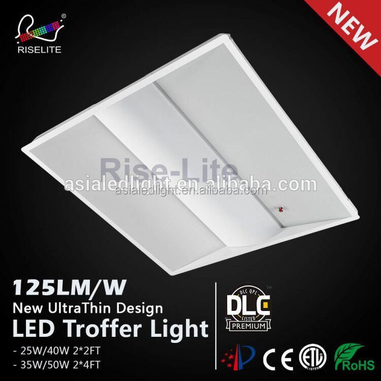 DLC pending Premium LED Troffer Retrofit Strip Kit, LED Retrofit Strip with Magnet, Magnetic LED Strip Kit 40W 4000K 5200lm