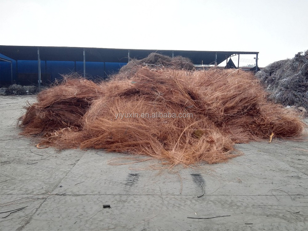 2017 new copper wire scrap with high quality 99.90% min