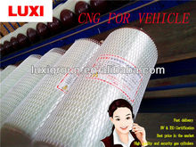 80L Type II hoop-wrapped glass fiber composite materials gas cylinder for car