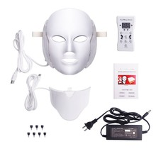 7colors PDT LED mask red led light mask face&neck mask