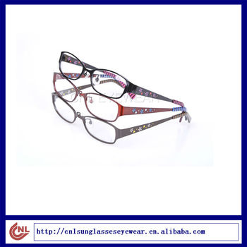 LADIES PRINTING READING GLASSES CLEAR LENS