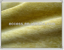 Softmicrosoft plain chenille fabric for sofa and chair cover