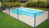 portable pool fence/ pool fence