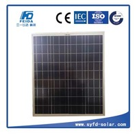 For Street Light or garden Light 70w poly solar panel