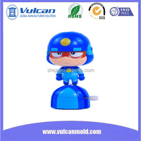 Customized plastic molds injection plastic figure body toy Shanghai China 2016