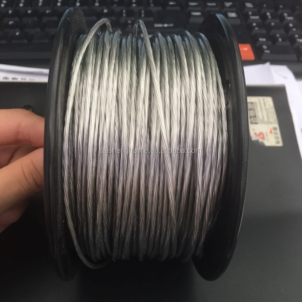 tsf 02 plastic cpated steel <strong>wire</strong> big size picture <strong>wire</strong>