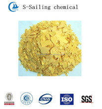 best price yellow flake sodium sulphide for leather
