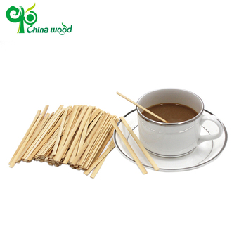 Excellent quality bamboo coffee stirrers sticks