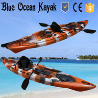 Blue Ocean Summer Style Kayak Fishing