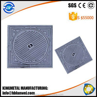 Best Price EN124 Ductile Iron Manhole Covers From Casting Factory