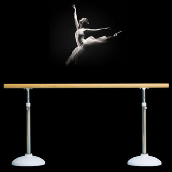 Portable/movable Ballet Rail Rhythmic Gymnastic Equipment Movable Gym Ballet Bar Rail Movable gym ballet barre ,dance bar,