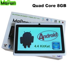 MaPan MX710F Cheapest Quad Core 7inch DDR 512MB 8GB Android Tablet pc, Tablet With FM Bluetooth