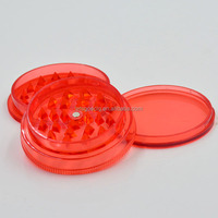 cheap plastic factory sales weed grinder acrylic customized 2 or 3 parts 63mm acrylic herb grinders