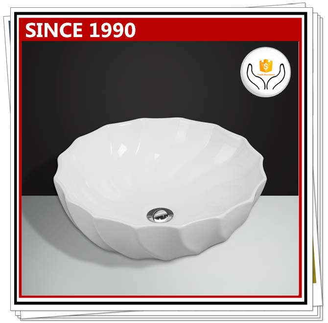 2019 special offer new model rose flower rould vessel sink