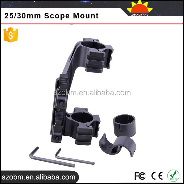 LD 3002 2*25/30mm Quick disassembly Ring Telescopic Sights Quick Release Scope Mount
