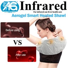 Smart Design Temperature Control Powered Neck And Shoulder Shawl