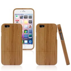 Genuine Natural Real Bamboo Hard Case Cover for iPhone 6 4.7 inch