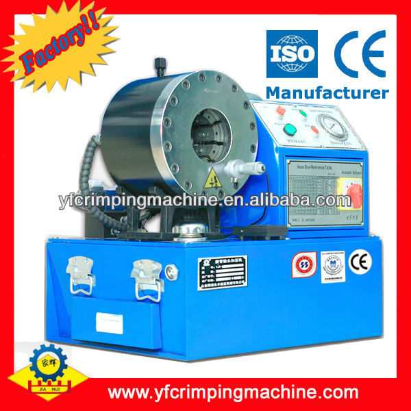 brake hose crimping machine