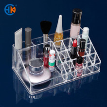 Makeup nailpolish shelves Exhibition stands display acrylic cosmetic boxes
