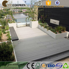Outdoor high quality timber cheap pvc decking