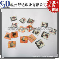 Souvenir Fridge Magnet/Magnets for fridge/Promotional cheap paper home decoration fridge magnets 3D PP fridge magnet