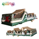 High quality inflatable challenge obstacle course slide inland obstacle course