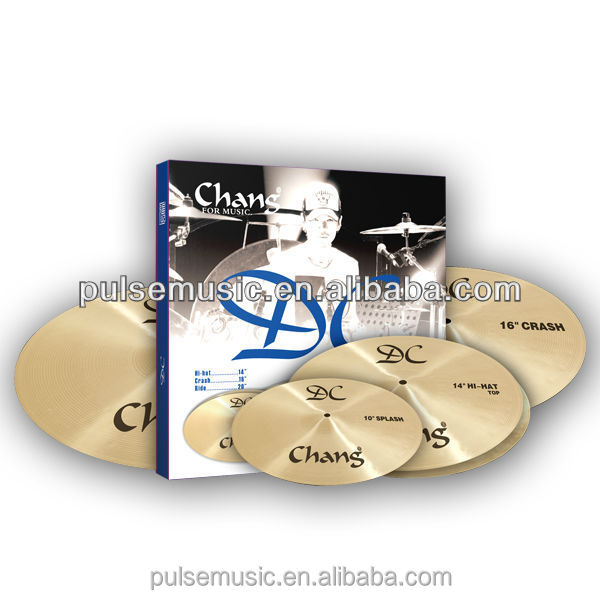 Popular B20 Chinese Chang Cymbal Set For Drum/Musical Instrument