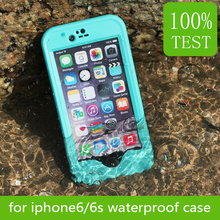 100% factory test New Product High Quality Case for iPhone 6 Waterproof Case