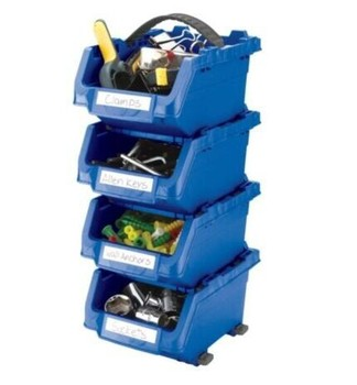 click bins,stackable bins Plastic PP storage tool bin box