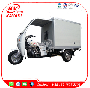 semi-cabin cargo three wheel motor tricyle/tricycle with cabin