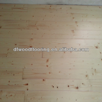 Finished Various Color Reclaimed Pine/Larch Solid Wood Flrooing for Wallboard