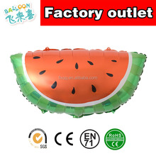 Fruit watermelon aluminum foil balloon birthday party decorated balloon baby 100 days banquet background wall decorated balloons