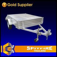 Spitfire Trailers 8x5 750kg Aluminum Box Trailer