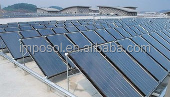High efficiency Rooftop Flat Plate Solar Collector /Solar Power System