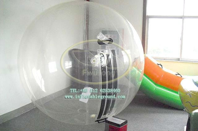 Inflatable Walking On Water Ball / Water Bubble Roller Ball For ...