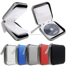 New 40 Capacity Disc CD DVD Holder Storage Case Bag Wallet Music CD Box