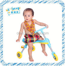 Children 3 wheel foldable foot tricycle scooter toy game for sale online