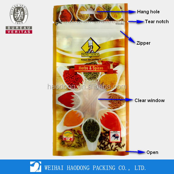 China Manufacturer Custom Aseptic Plastic Pouch Bag