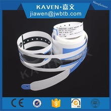 Patient identification wristband and supplies hospital disposable ID wristband